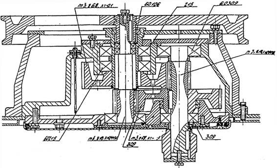 Редуктор привода месильного органа тестомеса А2-ХТ3-Б