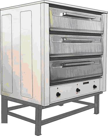 Шкафы пекарные электрические